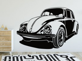 Sticker Voiture Coccinelle