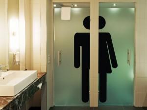 Sticker WC Homme Femme