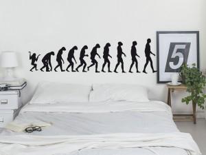 Sticker Evolution Singe / Homme