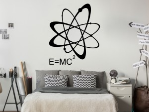 Sticker E MC2