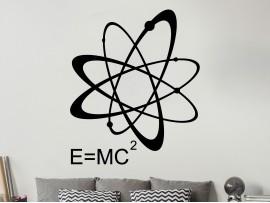 Sticker E MC2