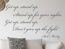 Sticker Get up, Stand up...