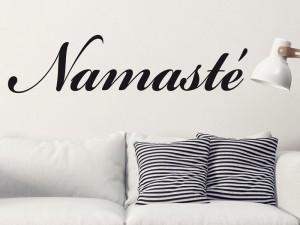 Sticker Namasté