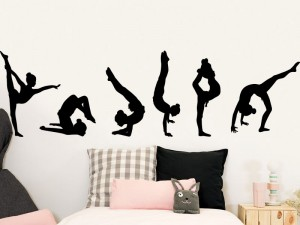 Stickers Pack 6 Gymnastique acrobatique