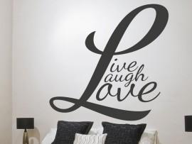Sticker Live,Laugh, Love