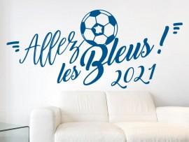 Sticker Allez les Bleus 2018