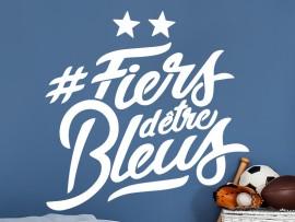 Sticker Foot Fiers d'être Bleus 2