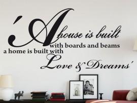 Sticker A House il built...