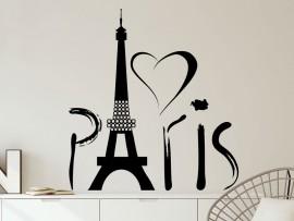 Sticker Love Paris