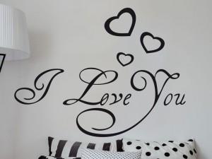 Sticker I love you 2