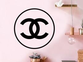 Sticker Chanel Rond