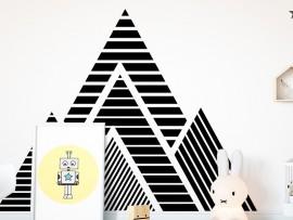 Sticker Montagnes géométriques