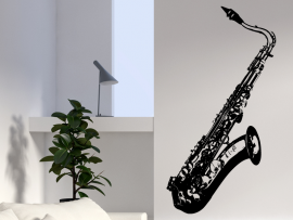Sticker Saxophone