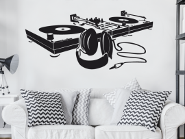 Sticker Platine DJ