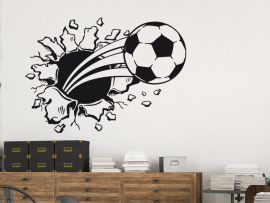 Sticker Ballon de Foot 3D