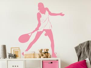 Sticker Joueuse de Tennis