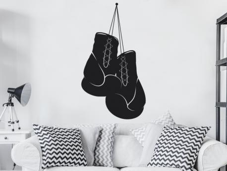Gants de boxe Personnalisé Mural Art Autocollant Vinyle Autocollant