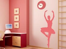 sticker autocollant danseuse classique ballerine