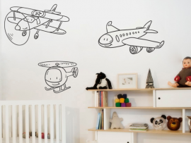 Sticker Pack Avions enfant