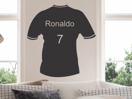 Sticker Maillot de Foot