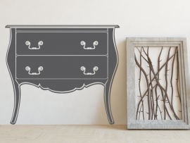 sticker autocollant commode meuble