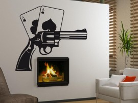Sticker Poker Revolver