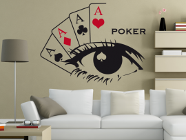 Sticker Poker Deco