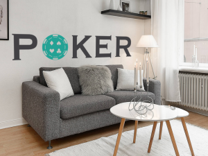 Sticker Poker jeton