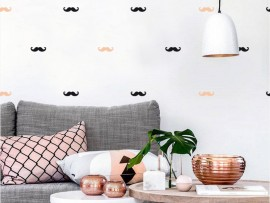 Sticker Pack Deco Moustache