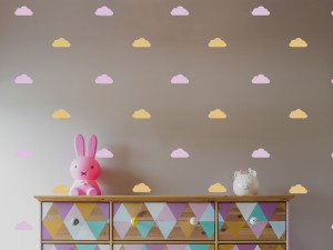 Sticker Pack Deco Nuages