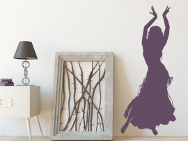 Sticker Danseuse Orientale