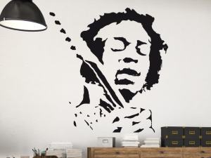 Sticker Jimmy Hendrix