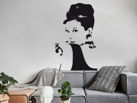 Sticker Audrey Hepburn 2