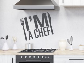 Sticker I'm a Chef