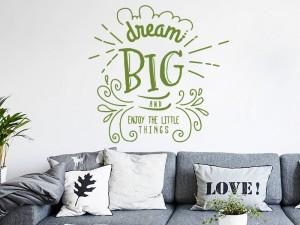 Sticker Dream Big