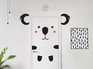 Sticker Koala à la Porte